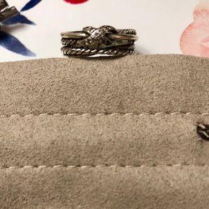 David Yurman Jewelry - Authentic-David Yurman Cross Over Ring